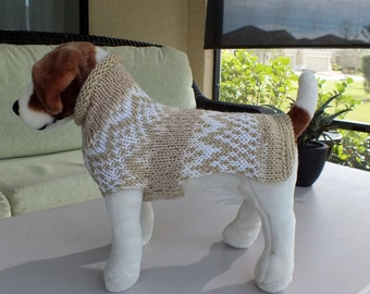 Dog Sweater Navajo 16  inches long Small