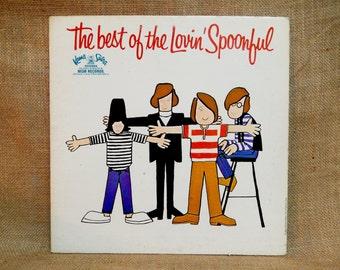 The Lovin' Spoonful - The Best of the Lovin' Spoonful - 1967 Vintage Vinyl Gatefold Record Album