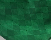 Vintage Green Jersey Fabric 1 1/4 yards 70 inches wide