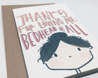 Valentine's Day Cards, Love Card, Anniversary Cards, Thank You Cards, For Boyfriend, For Husband, From Wife, From Girlfriend  - No. 210-C