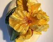 Yellow Iris Gift Soap - Fragrant Hyacinth Scent or You Choose - Glycerin Soap - Goats Milk, Cocoa Butter and Olive Oil Soap