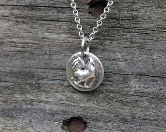 Top of the Morning Rooster Pendant