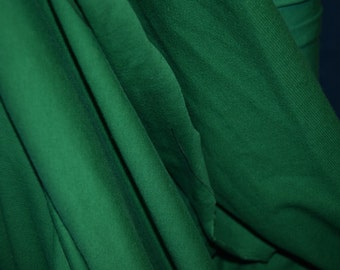 Kelly Green Cotton Lycra Fabric (yard)