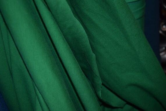 Kelly Green Cotton Lycra Fabric (yard)