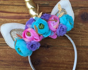 Unicorn Headband  - Unicorn Horn