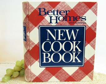 Better Homes and Gardens New Cook Book / Cookbook ... 1989 Hardcopy in 5-Ring Binder