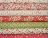 Strawberry Fields Revisited Fat Quarter Bundle of 7 by Joanna Figueroa of Fig Tree for Moda