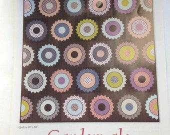 Gardenvale Quilt Kit plus the EZ Dresden Ruler Set 882700.  Quilt Kit by Jen Kingwell