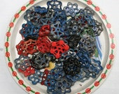 Vintage Valve/Faucet Handles 80 pcs. OVERSTOCK Batch -FREESHIPPING-Faucet Knobs-Funky Crafts Handles-Altered Art-Found Art