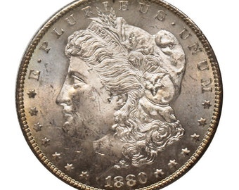 1880 S U.S. Morgan Silver Dollar