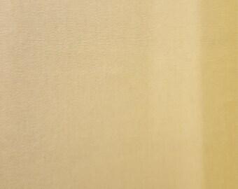 Light Yellow Cotton Interlock Knit FAbric