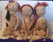 American Annie and Friends Primitive Doll E-Pattern digital download