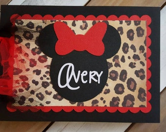Personalized Disney Autograph Book