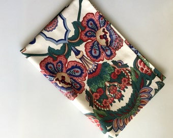 Handmade Abstract PLANT and Flower Jungalow Style Pillowcase