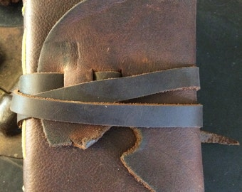 Hand-made Leather Art Journal
