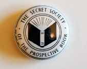 "Secret Book Club 1"" Buttons"
