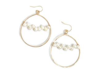 Pearl Earrings - Bridesmaid Gift