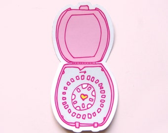 Birth Control Pills Large Sticker