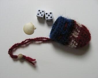 small gift bag medicine dice bag