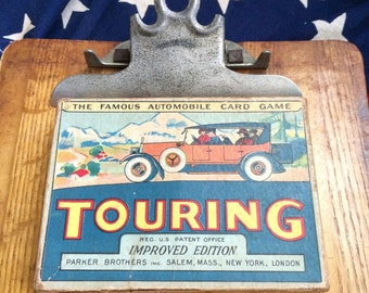 For The Lover Of Antique Games and Cars 1920s Card Game