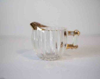 Vintage glass creamer