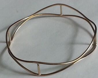 14 K Gold Filled Bracelet