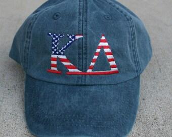 Kappa Delta American Flag Cap