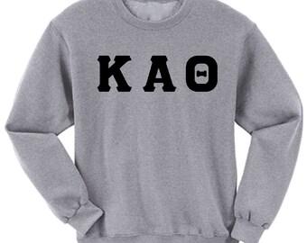 Kappa Alpha Theta - Athletic Grey Sweatshirt