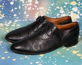Black Captoe Men's Dress Shoe Size 13