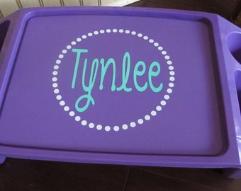 Personalized Lap Tray
