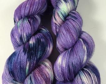 Spoiled!, Hand Dyed Yarn Baby Alpaca, Silk, Cashmere, Haute Shot OOAK
