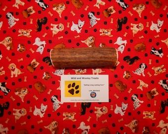 """Organic Large Elk Antler Dog Chew """"Made in Montana"""" (Lot C86)"""