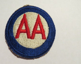 Late WW2 and Korean War Era US Anti Aircraft Command  Combat Patch Unused