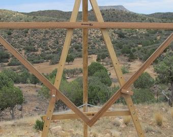 4FT adjustable FINE Sett Triangle Loom