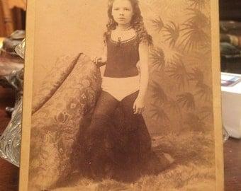 Eisenmann Acrobat Photo Mixed Race Child