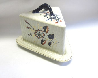 Ironstone Cheese Keeper Antique 1800s Cake Saver Preserver