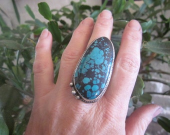 Huge Turquoise Ring
