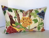 Whipporwill Bird Decorative Pillow Cover