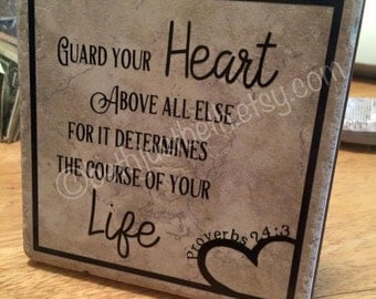 Guard Your Heart Proverbs
