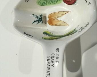 No Drip Gravy Separater Bowl