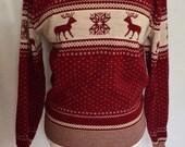 1970s Nordic Sweater