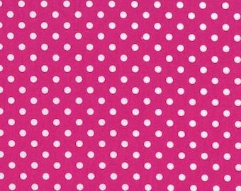 Michael Miller - Dumb Dot in Fuchsia - By The Yard