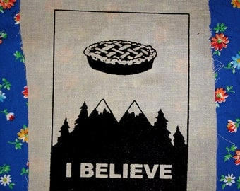TWIN PEAKS xfiles mashup PATCH brilliantly clever thank you thank you