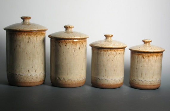 pottery canisters kitchen canister set kitchen canister set archives brent smith pottery brent