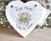 Room Mom Teacher Helper Gift Salt Dough Ornament / Teacher Assistant Appreciation Gift