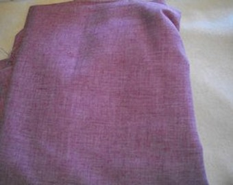 Light Mauve Cotton Blend Fabric