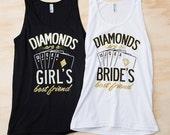 Bachelorette Vegas Party shirts   Diamonds Are A Bride's Best Friend