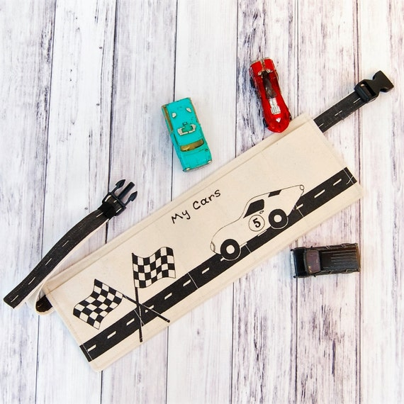 Car Utility Belt, boys birthday gift, boys belt, custom boys gift, toy car belt, personalized belt, toy storage belt, toy belt car gift