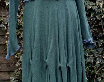 Goddess Rouche Long Dress