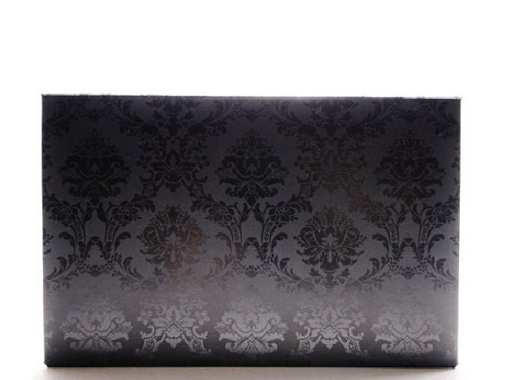Basic Premium Eyeshadow Goth Palette Magnetic Makeup Tool anothersoul black damask book of shadows - Prince of Darkness